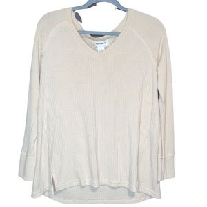 for the republic beige long sleeve shirt
